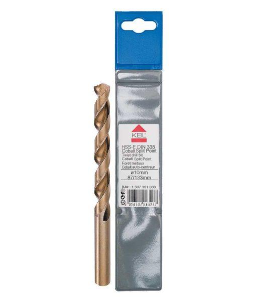 Кобалтово свредло за метал HSS-Е DIN 338 шлифовано Keil Split point 3