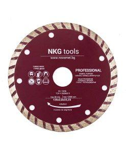 Диамантен диск за бетон турбо ръб