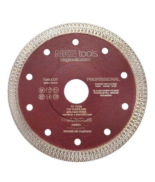 Диамантен диск за плочки TurboCUT тънък 2