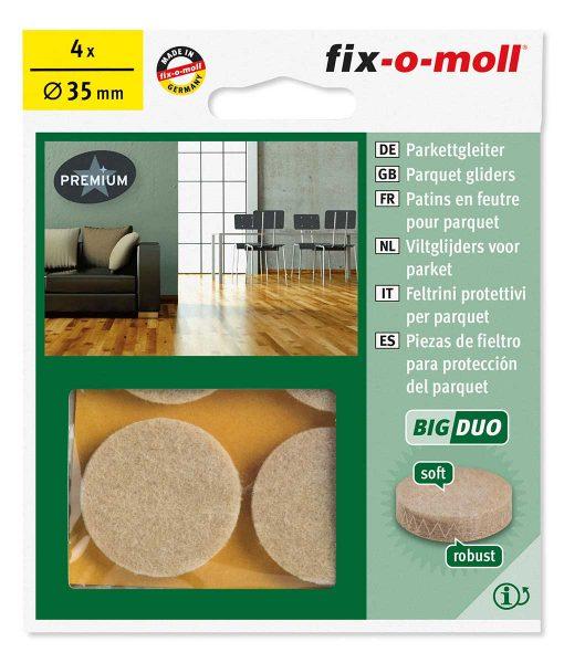 Подложки за крака на столове и мебели Fix-o-moll серия BigDuo 5