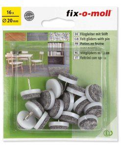 Подложки за крака на столове и мебели с пирон Fix-o-moll