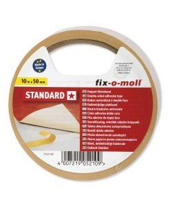 Двойнозалепващо тиксо Standard 50 мм fix-o-moll 2
