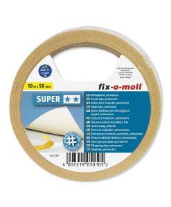 Двойнозалепващо тиксо Super 50 мм fix-o-moll 2