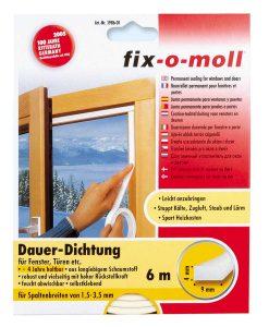 Уплътнение за врати и прозорци дълготрайно fix-o-moll