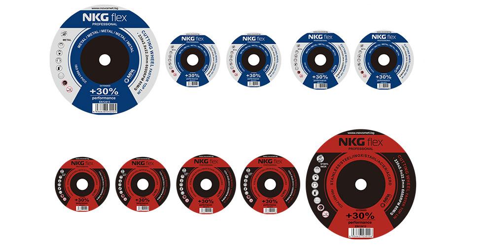 Карбофлексни дискове за рязане на метал