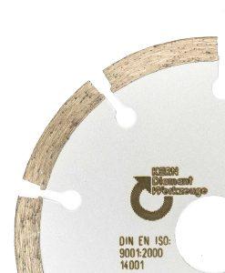 Диамантен диск за абразиви и газобетон сегментен Kern 2