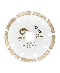 Диамантен диск за абразиви и газобетон сегментен Kern