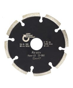 Диамантен диск за абразиви и асфалт сегментен Kern