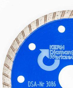 Диамантен диск за бетон и гранит турбо Kern 2