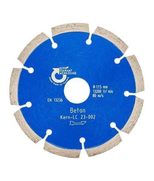 Диамантен диск за бетон и керемиди сегментен Kern