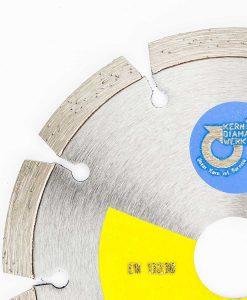 Диамантен диск за бетон и гранит сегментен Kern 2