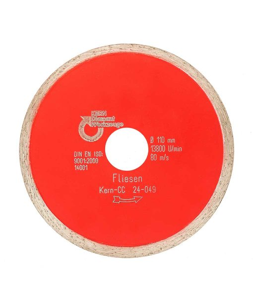 Диамантен диск за плочки Kern