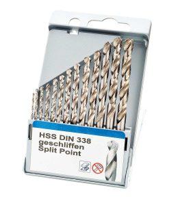 Свредла за метал 13 бр. HSS DIN 338 шлифовани Keil