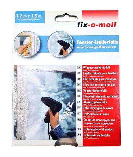Фолио за стъкла изолационно fix-o-moll