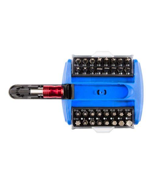 Комплект битове с държач 33 части от NKG tools