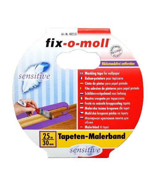 Хартиено тиксо за боядисване деликатно fix-o-moll