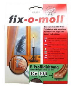 Уплътнение за врати и прозорци гумено fix-o-moll 2