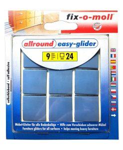 Подложки за крака на мебели fix-o-moll Easy glider плоски 2