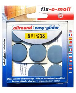 Подложки за крака на мебели fix-o-moll Easy glider плоски