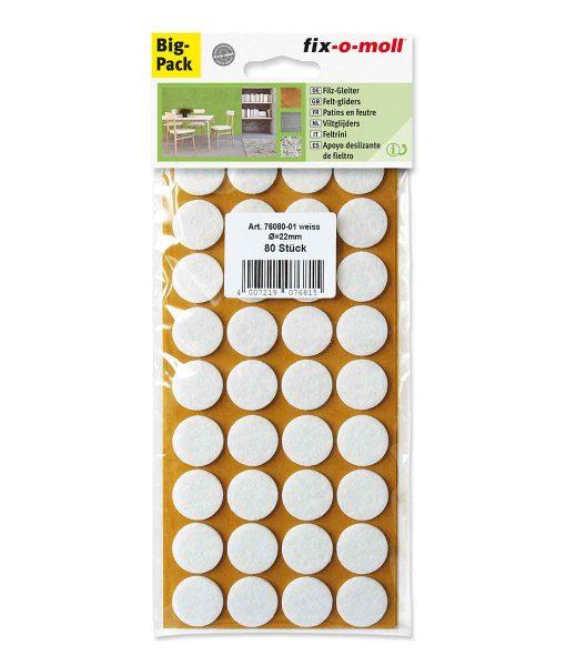 Подложки за мебели филцови бели fix-o-moll 4