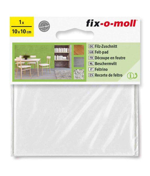 Подложки за мебели филцови бели fix-o-moll 5
