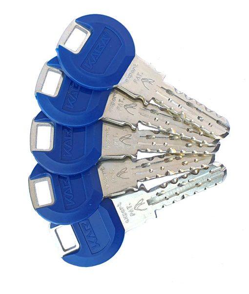 Ключалка за врата Expert с късо рамо и ламели Kaba 4
