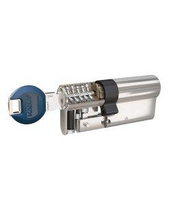 Ключалка за врата Expert с късо рамо и ламели Kaba 6