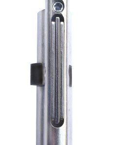 Ключалка за врата Penta с късо рамо и ламели Kaba 3