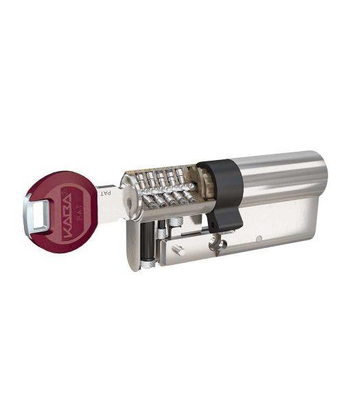 Ключалка за врата Penta с късо рамо и ламели Kaba 6