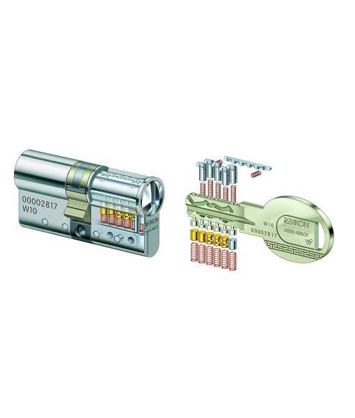 Ключалка за врата ZIKON W10 6