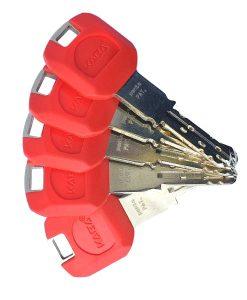 Ключалка за врата Penta с дълго рамо и ламели Kaba 4