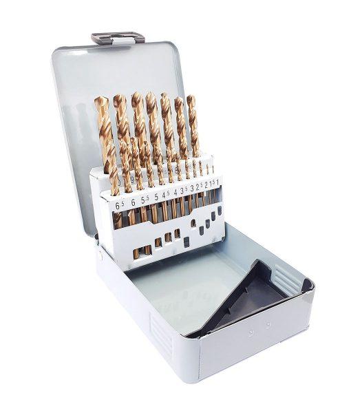 Комплект кобалтови свредла за метал 19 бр. Keil 6