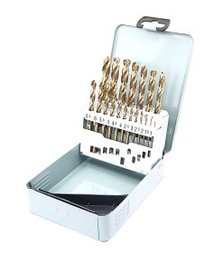 Комплект кобалтови свредла за метал 19 бр. Keil