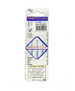 Нож за зеге B&D за алуминий, цветни метали, PVC Gematic 2