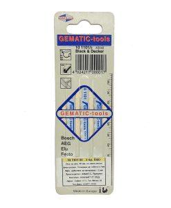 Нож за зеге B&D за черен метал за фино рязане Gematic 2