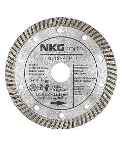 Диамантен диск за бетон, плочки и керамика премиум турбо