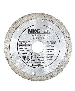 Диамантен диск за плочки с отвори премиум непрекъснат ръб